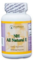 NH All Natural E - 120 Capsules
